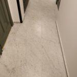 Bianco Carrara golv