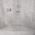 Bianco Carrara badrum